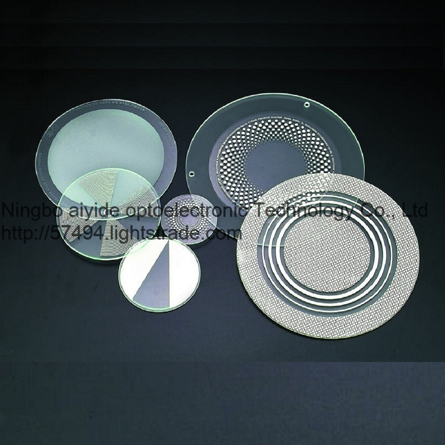 silk white round Toughened glass lamp cover