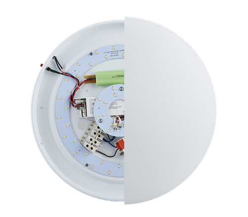 LED OYSTER 24W Emergency ceiling lamp