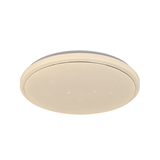 Round simple modern art led ceiling lights home decor indoor bedroom CCT dimming led ceiling lamp