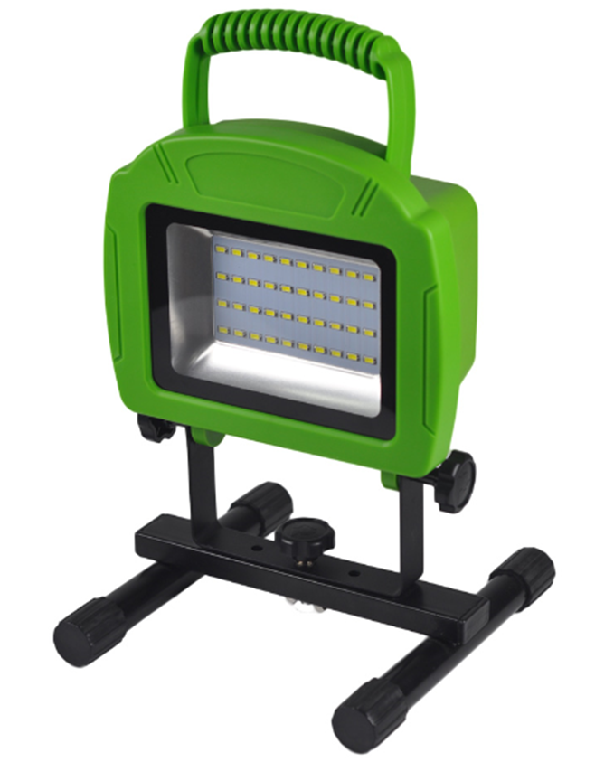 Portable Floodlight Outdoor Camping Emergency Spotlight Ultra Bright 20W Rechargeable LED Work Light