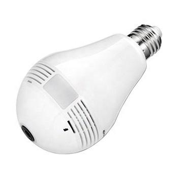 Express high quality cctv WIFI camera bulb for 2 years garrenty