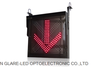 LED Lane Control Sign