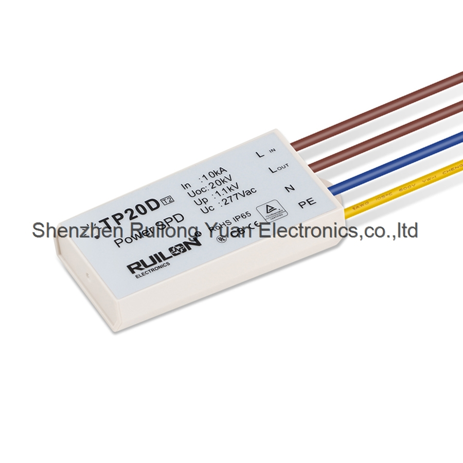Surge Protection Devices For LED Power System Supply Street Lights LED Flood lighting