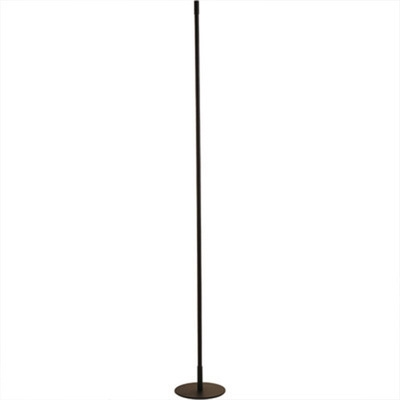 Modern minimalist led floor light Aluminum simple living room bedroom vertical strip black floorlamp