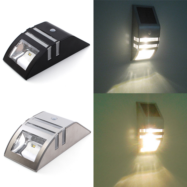 model outdoor led sensor wall light high quality solar fence outdoor light
