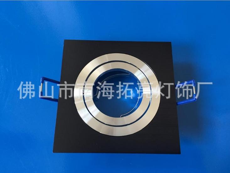 Recessed grille light mr16 gu10 ceilling downlight fixture