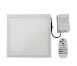 RGBW & CCT adjustable 20W 36W Smart LED panel light ceiling with remote control