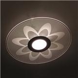 New Design AC175-240V 24W Circular Shape Acrylic LED Lamp Pendant Light LED Ceiling Light Decorative