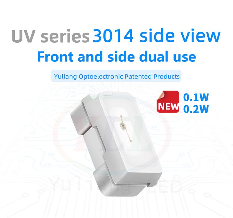 UV sreies 3014 side view led 3014 smd LEDs uv led