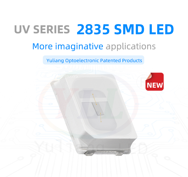 UV sreies 2835 SMD LED丨 2835 small power LEDs uv led