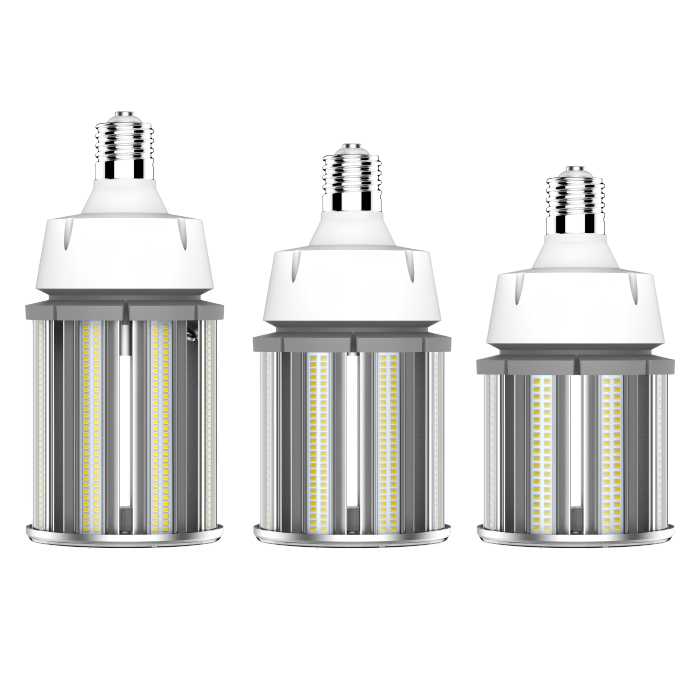Most smallest size 27W LED CORN LIGHT enclosed fixture DLC CE 150lm w outdoor Luminaire
