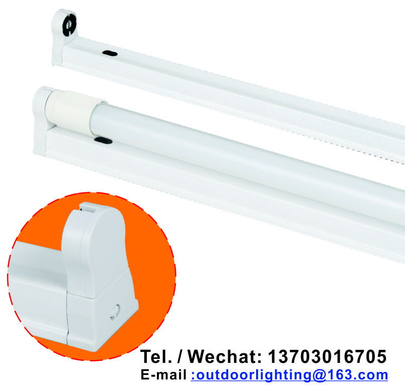 T8 FIXTURE with Ultra-bright LED lamp 1200mm 600mm18W 9W aluminum fixture
