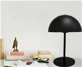 Classic Simple Desk Lamp stainless steel Black White MAX40W E27 base