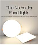thin no border panel light no frame ceiling light