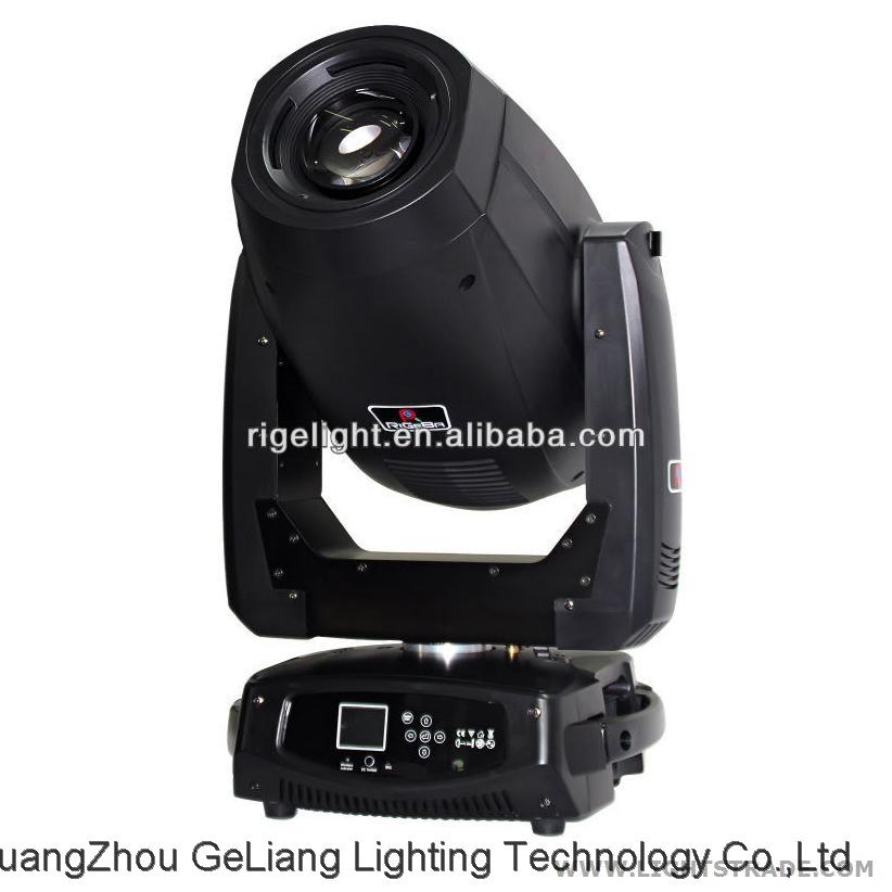 China RIGE 330w 15R 17R beam spot wash 3in1 moving head light RG-M350