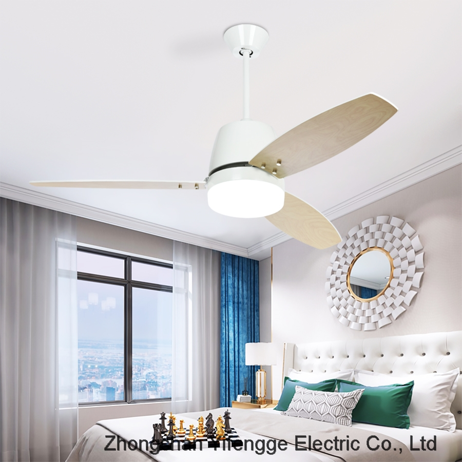 Dining room living room bedroom ceiling fan with light LED simple Chandelier