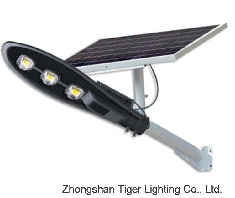 High efficiency CE RoHs Outdoor Solar Energy 50W 100W 150W Solar Street Light with Remote.
