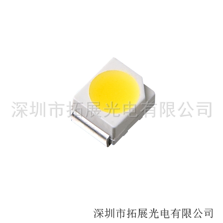 厂家批发LED贴片灯珠 3528白光 超高亮贴片LED3528SMD发光管