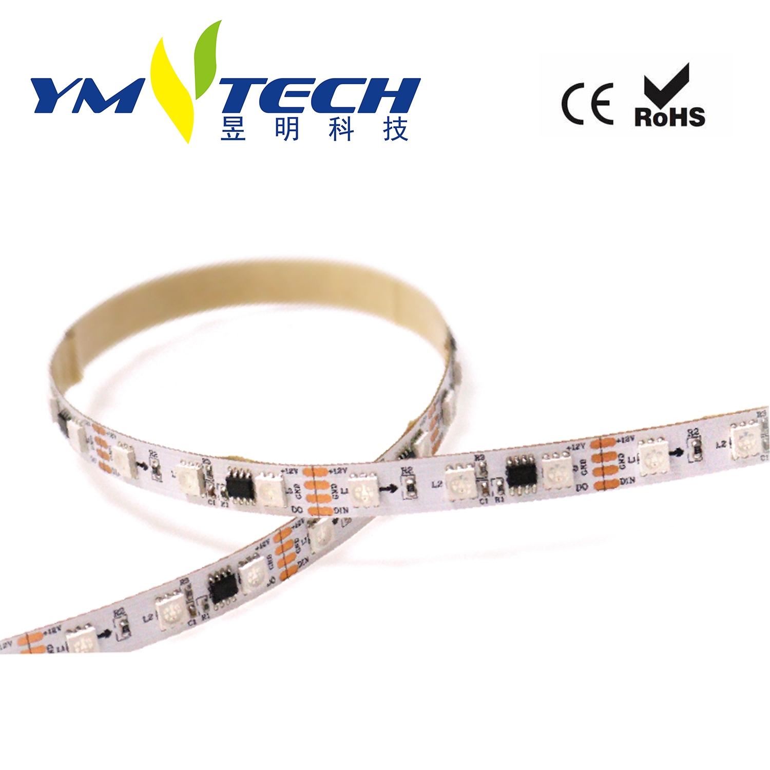 5050RGB Magic IC Outside Flexible Led Strip