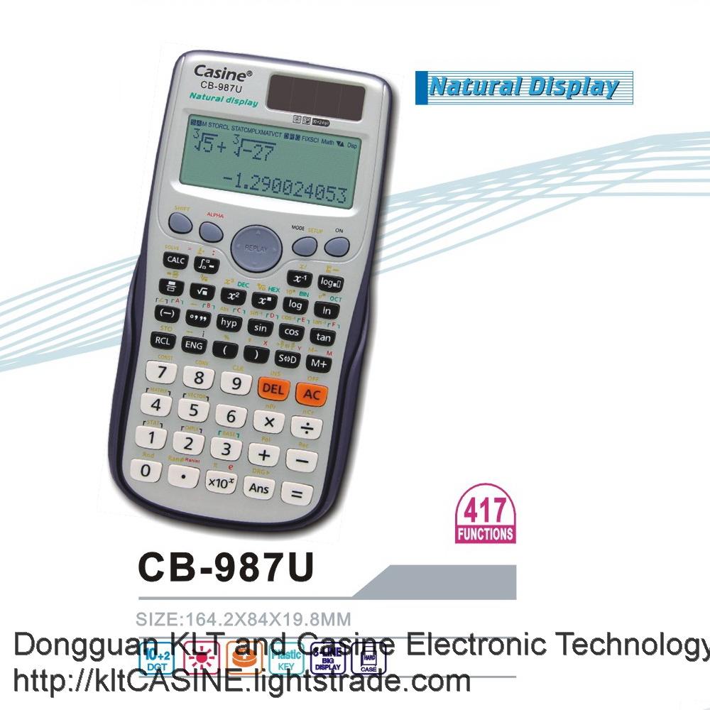 Scientific Calculator CB-987U