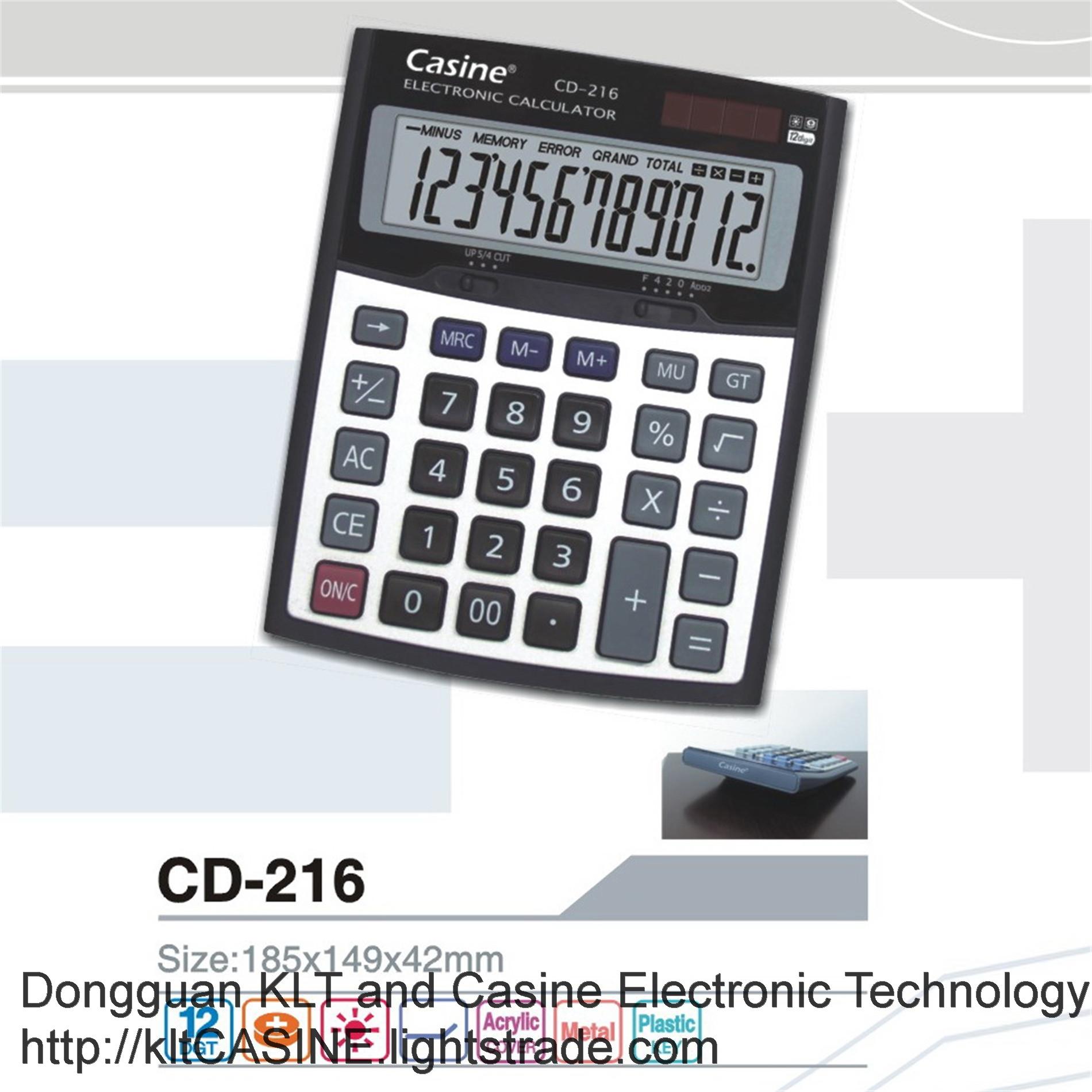 Desktop Calculator CD-216