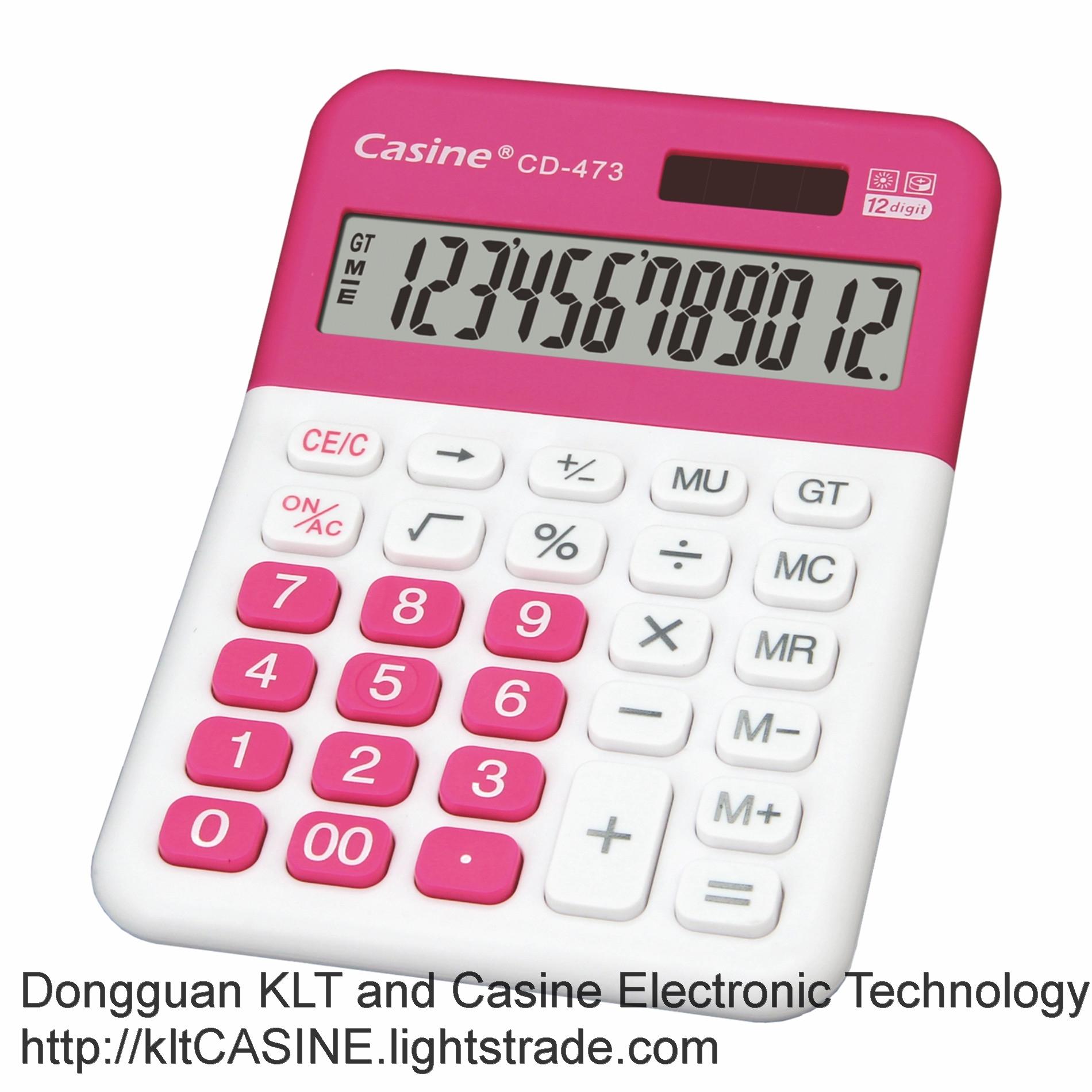 Desktop Calculator CD-473