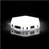 Dimmable Nano leaf LED Ceiling Panel Light RGB Modular Hexagon Lights