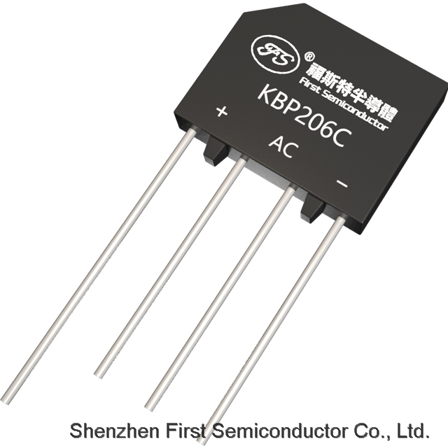 FIRST Bridge Rectifier KBP206C 600V