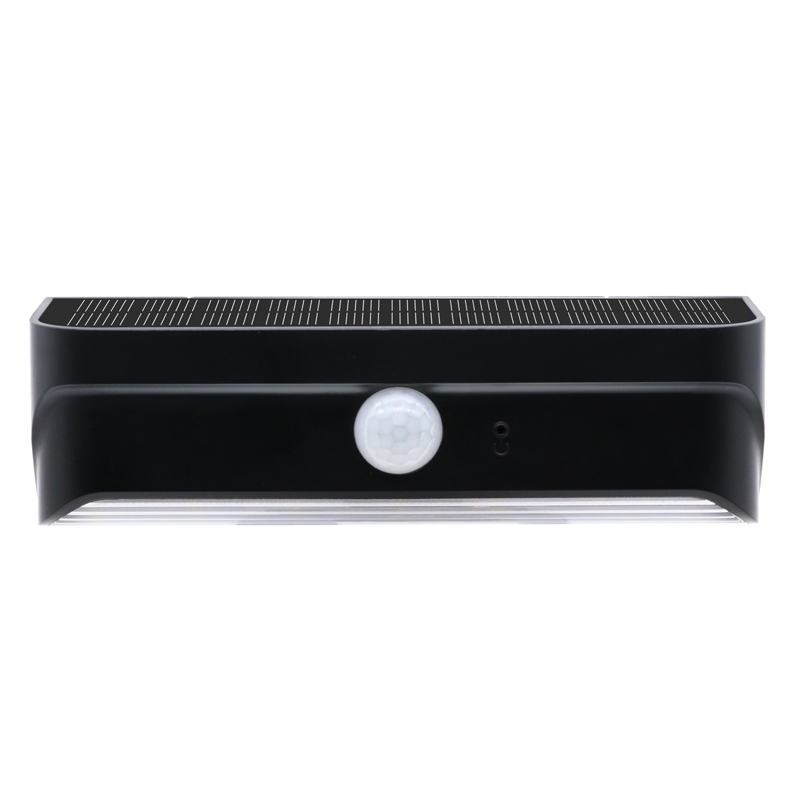 LED Outdoor Solar Wall Lamp Waterproof IP65 Motion Sensor Garden Lighting Outside Lights Automatic