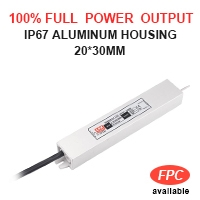 IP 67 Extrememly slim LED power supply