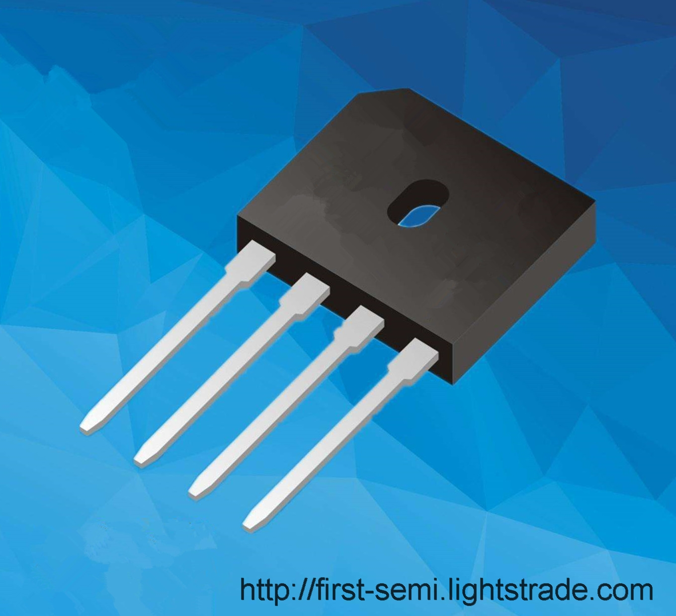 FIRST Transistors Bridge Rectifier