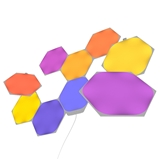 High Quality Dimmable Rhythm Connectable LED Panel light Nanoleaf Aurora Panels Triangle Lights
