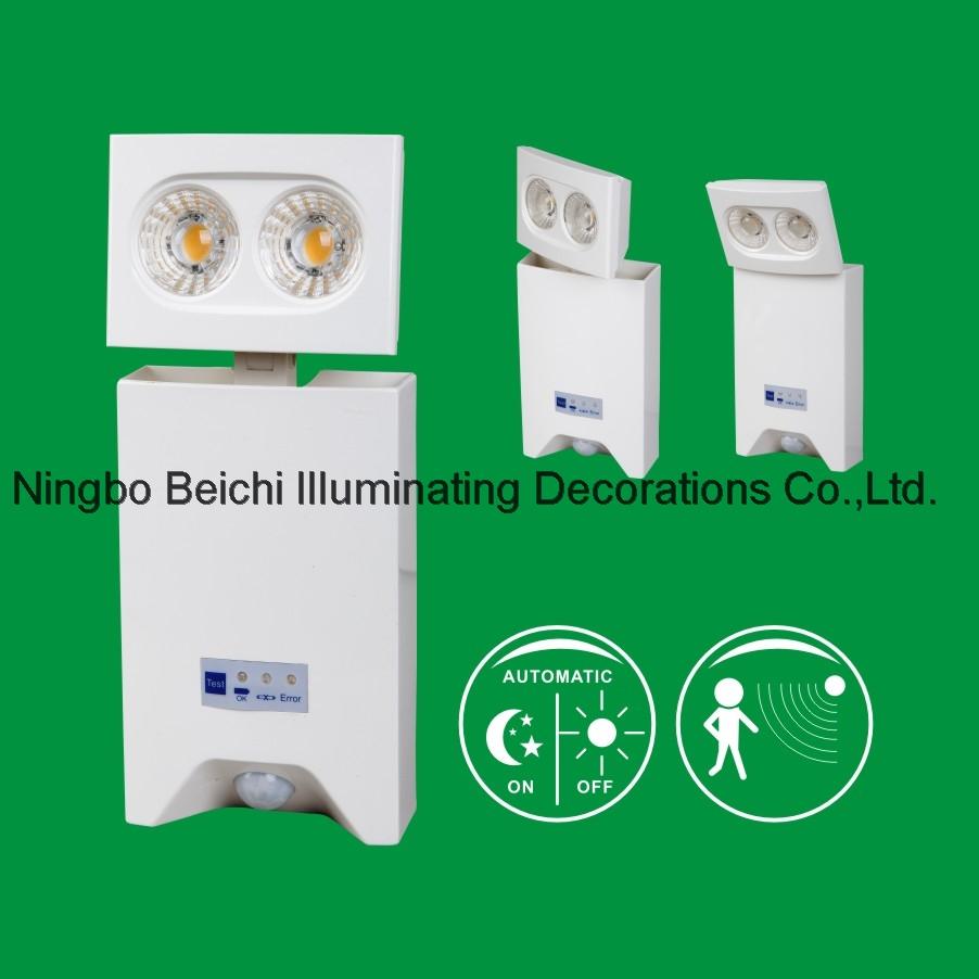 Double head Emergency light LED Emergency Light with sensor