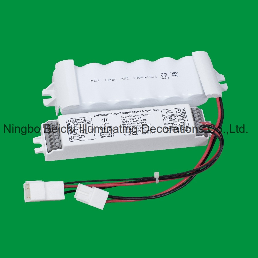 LED Emergency kits Emergency converter for LED lighting