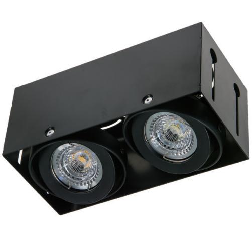Spot light fixture GU10 MR16 Multi function Frameless 2 heads