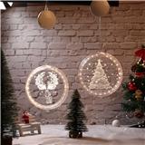 3D Hanging LED Decoration Lights Room Modeling Bedroom Holiday Lighting Window Christmas light