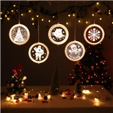 3D LED Decoration Lights Room Outdoor String Fairy Light Holiday Lighting Christmas Night Lights