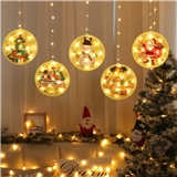 Color Painting Christmas Decoration Outdoor String Fairy Light Holiday Lighting
