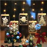 3D Hanging LED Decoration Lights Room Modeling Bedroom Holiday Lighting