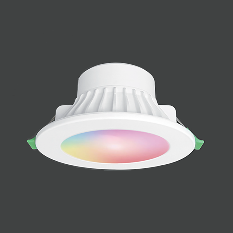 Ultra Slim Rgb Recessed Smart Led Lights Wifi 10w Dimmable Downlight