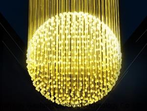 LED Fiber Optic Twinkle Coloful Star Sky DIY Ceiling Light Kit for Decoration