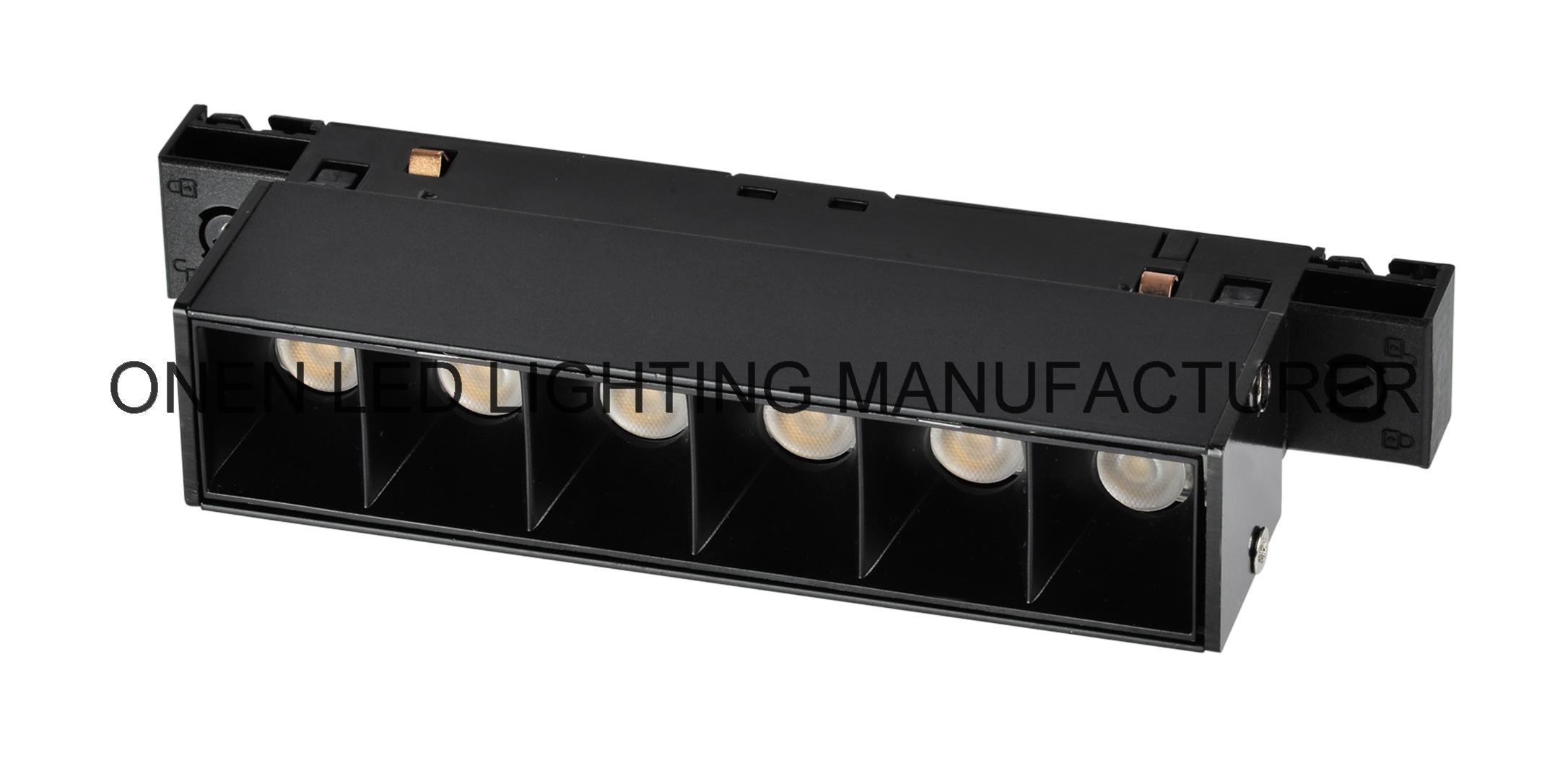 ounen compact system adjustable high contrast track spotlight 23SCG6-6W