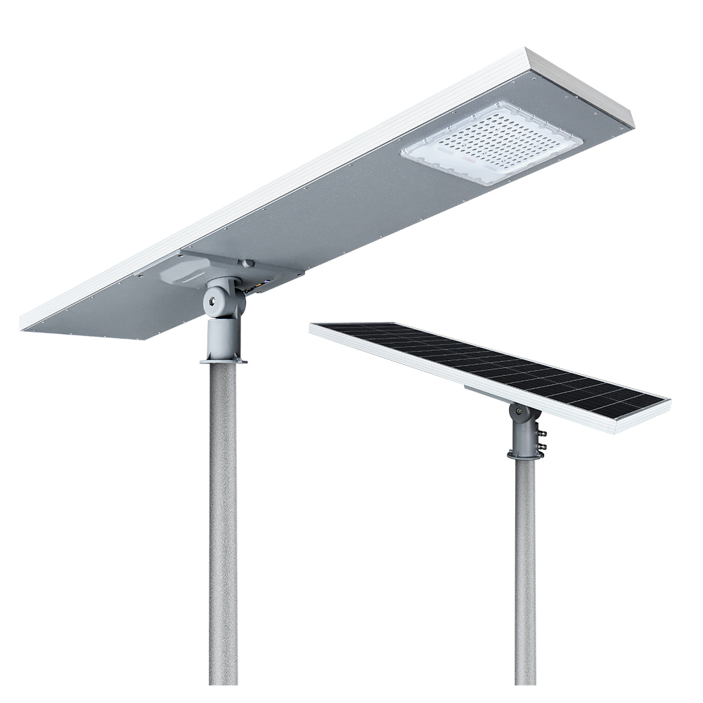 KCD Outdoor IP65 Integrated all-in-one 50w 100w 150w 200w solar led street light