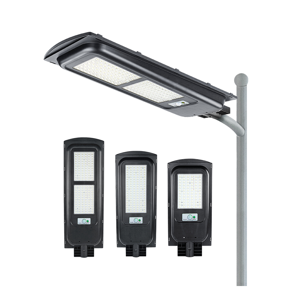 KCD commercial integrated 100W 200W IP65 All in one solar street light