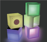 LED HOLLOW CUBE