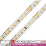 2835 LED Strip-160LED m 24V CRI95 R1-R1590 9.6W FULL SPECTRUM SMD LED STRIP