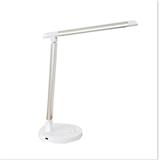 New LED desk lamp simple modern European plug-in dimming color temperature desktop office work eye p