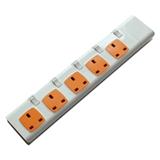 Extension socket movable socket 5 way socket