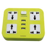 Extension socket movable socket multiple socket with USB