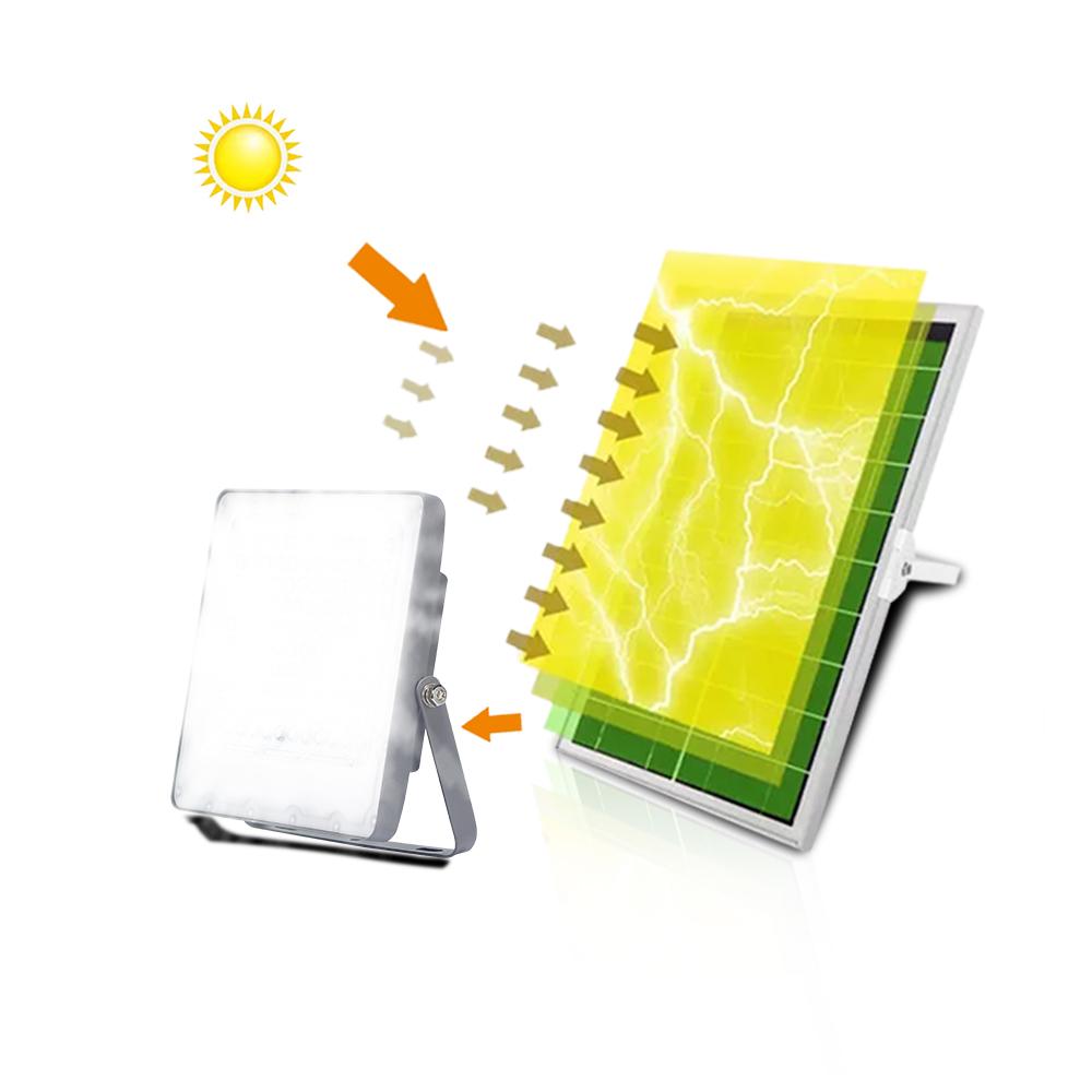 KCD Aluminium outdoor lights 100w 200w 300w Portable Led Solar Flood light
